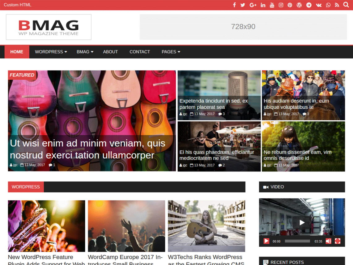 BMag By GalussoThemes