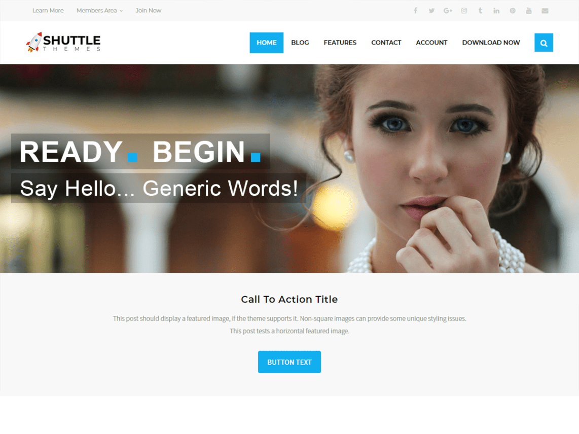 Shuttle weBusiness By shuttlethemes