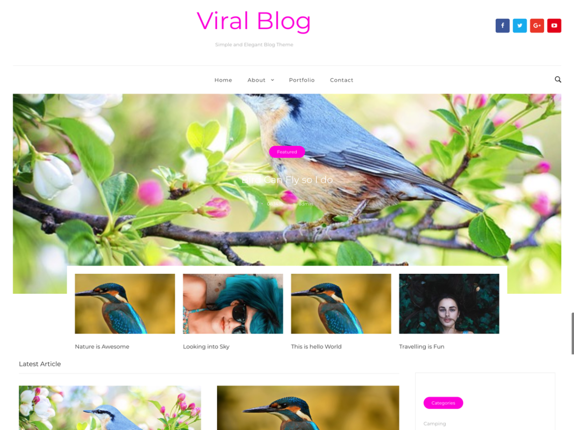 Viral Blog By Theme Stop